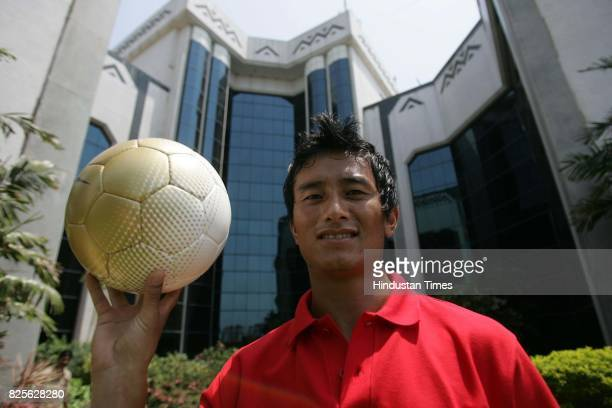 Football player Bhaichung Bhutia