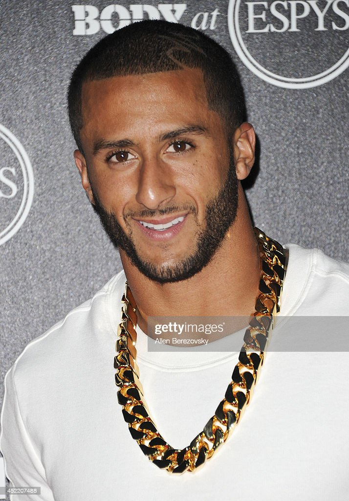 Football player Colin Kaepernick attends ESPN Presents BODY At ESPYS Pre-Party at Lure on July 15, 2014 in Hollywood, California.