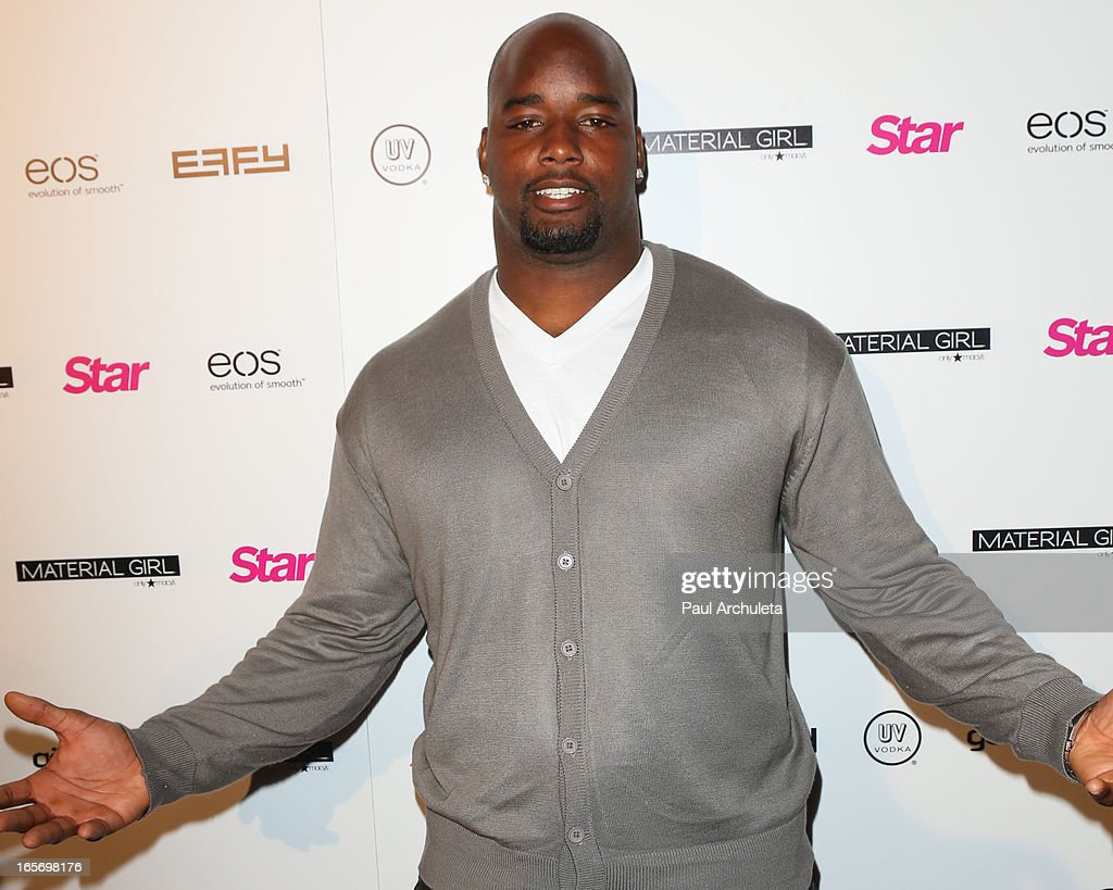 Football Player Datone Jones attends Star Magazine's 'Hollywood Rocks' party at Playhouse Hollywood on April 4, 2013 in Los Angeles, California.