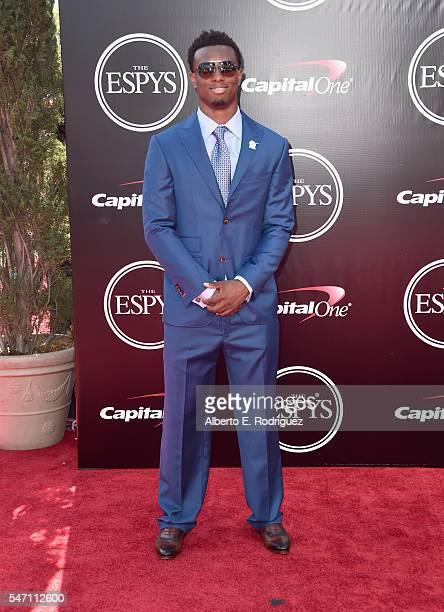 Football player Eli Apple attends the 2016 ESPYS at Microsoft Theater on July 13 2016 in Los Angeles California