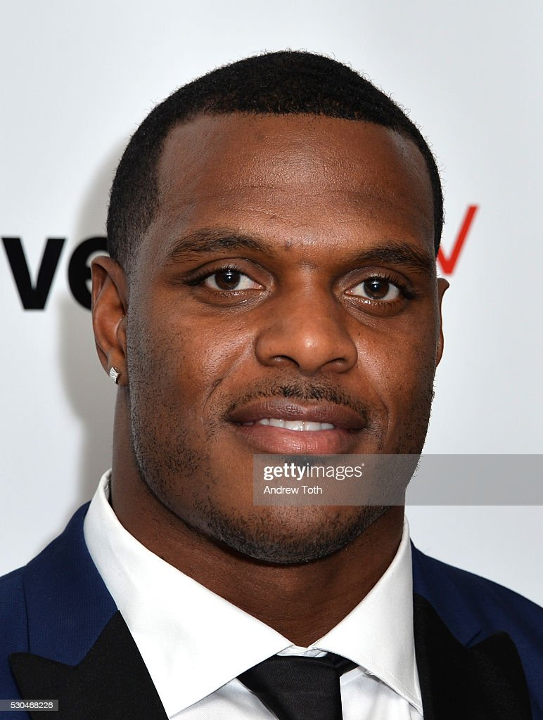 Football player <a gi-track='captionPersonalityLinkClicked' href=/galleries/search?phrase=Jasper+Brinkley&family=editorial&specificpeople=4032417 ng-click='$event.stopPropagation()'>Jasper Brinkley</a> attends the Joyful Heart Foundation honors Vice President Joe Biden at Joyful Revolution Gala on May 10, 2016 in New York, New York.