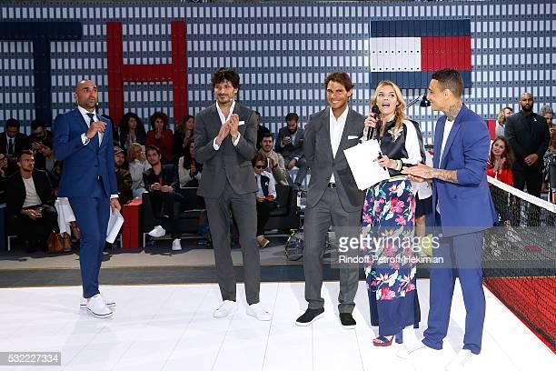 Football player Jerome Alonzo Model Andres Velencoso Segura Tennis player Rafael Nadal Actress Justine Fraioli and Football player Gregory van der...