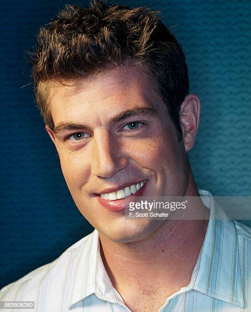 Football player Jesse Palmer is photographed for People Magazine in 2001