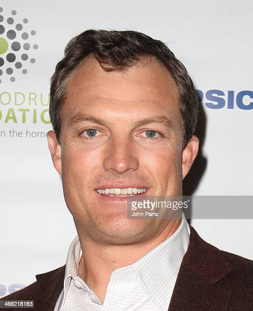 Football player John Lynch attends PepsiCo Honors Bob Woodruff Foundation With Blake Shelton Concert from #PEPCITY at Bryant Park on January 31 2014...