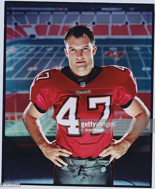 Football player John Lynch is photographed for ESPN The Magazine in 2000