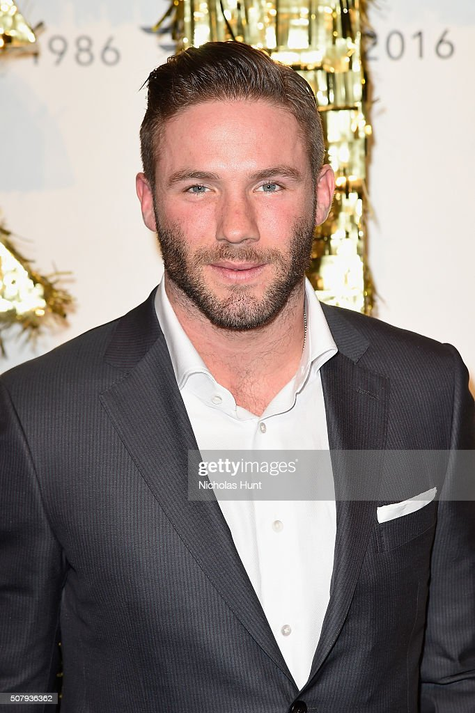 NFL football player Julian Edelman attends the Dockers x CFDA NYFWM Opening Party during New York Fashion Week Men's Fall/Winter 2016 at ArtBeam on February 1, 2016 in New York City.