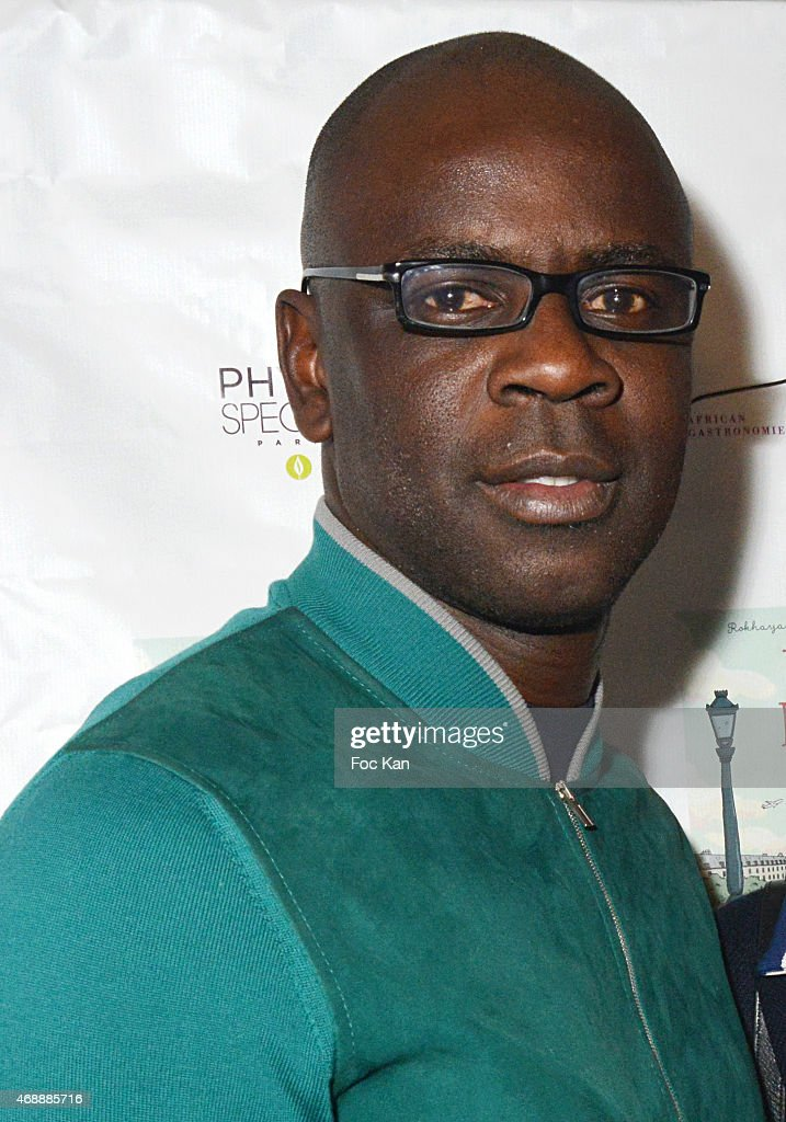 Football player <a gi-track='captionPersonalityLinkClicked' href=/galleries/search?phrase=Lilian+Thuram&family=editorial&specificpeople=211248 ng-click='$event.stopPropagation()'>Lilian Thuram</a> attends The 'Pari(s) D'Amies' : Rokhaya Diallo and Kim Consigny Book Launch Cocktail At Le Hangar on April 7, 2015 in Paris, France.
