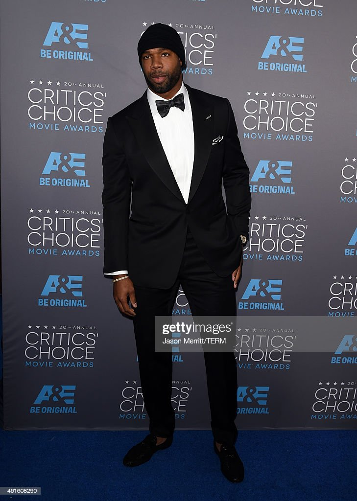 Football player Marcedes Lewis attends the 20th annual Critics' Choice Movie Awards at the Hollywood Palladium on January 15, 2015 in Los Angeles, California.