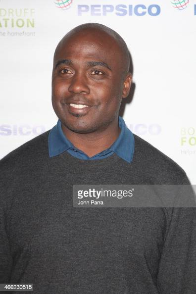 Football player Marshall Faulk attends PepsiCo Honors Bob Woodruff Foundation With Blake Shelton Concert from #PEPCITY at Bryant Park on January 31...