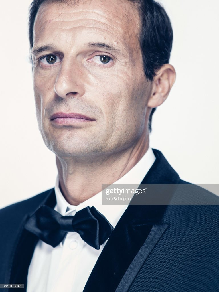 Football Player Massimiliano Allegri is photographed for GQ Italy, on July 16, 2013 in Milan, Italy.