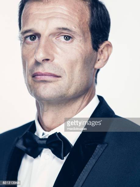 Football Player Massimiliano Allegri is photographed for GQ Italy on July 16 2013 in Milan Italy
