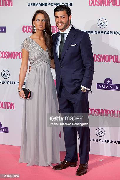 Football player Miguel Torres and girlfriend attend Cosmopolitan Fun Fearless Awards 2012 at Ritz Hotel on October 22 2012 in Madrid Spain