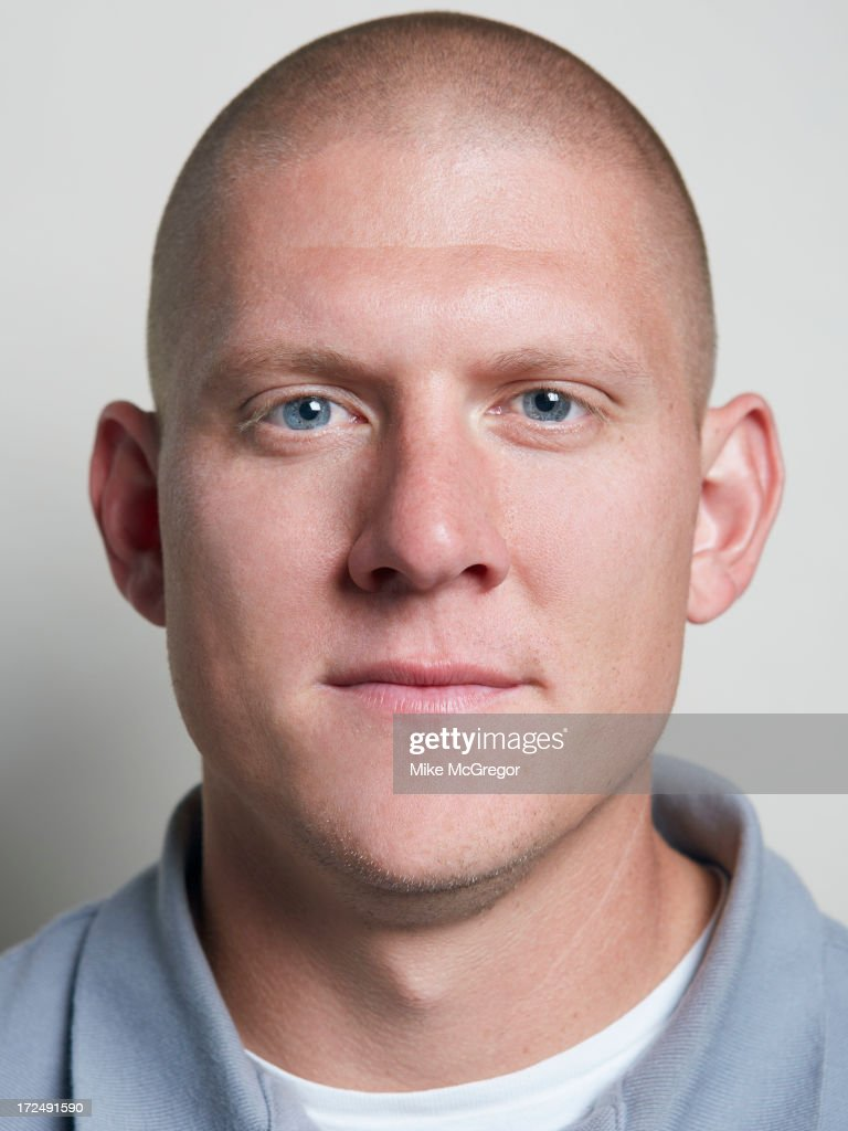 Football player Nick Folk is photographed for Self Assignment on September 11, 2012 in New York City.
