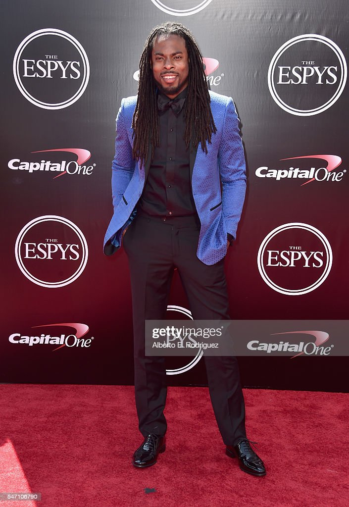Football player Richard Sherman attends the 2016 ESPYS at Microsoft Theater on July 13, 2016 in Los Angeles, California.