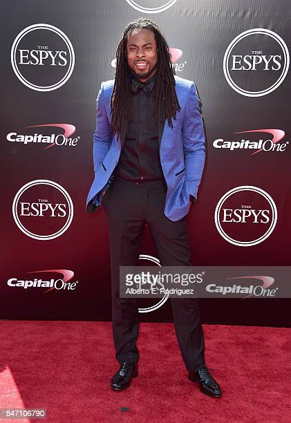 Football player Richard Sherman attends the 2016 ESPYS at Microsoft Theater on July 13 2016 in Los Angeles California