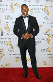 Football player Victor Cruz attends the 2015 Fragrance Foundation Awards at Alice Tully Hall at Lincoln Center on June 17 2015 in New York City