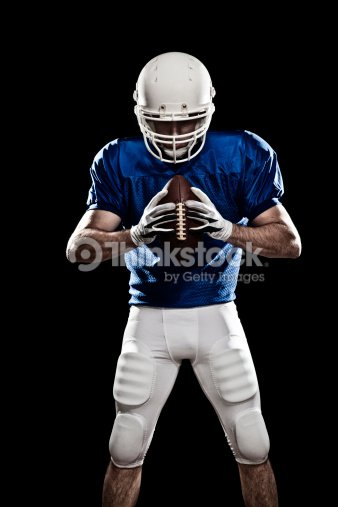 Football Player with a ball 03