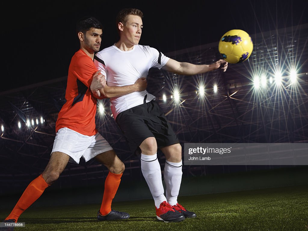 Football Players : Stock Photo
