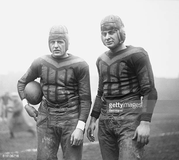 Football Players Red Grange and Earl Britton