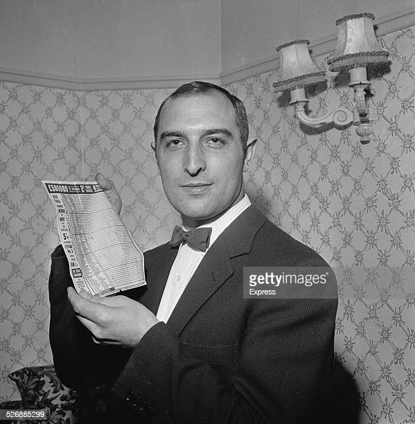 Football pools winner Ute Diepold who is unfortunately too young to claim his £30000 winnings 2nd November 1960