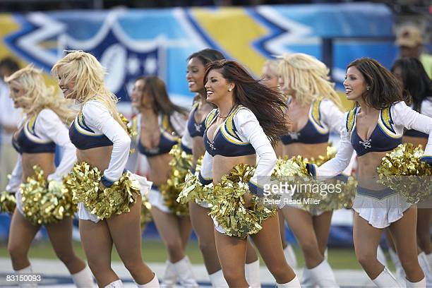 San Diego Chargers cheerleaders during game vs New York Jets San Diego CA 9/22/2008 CREDIT Peter Read Miller