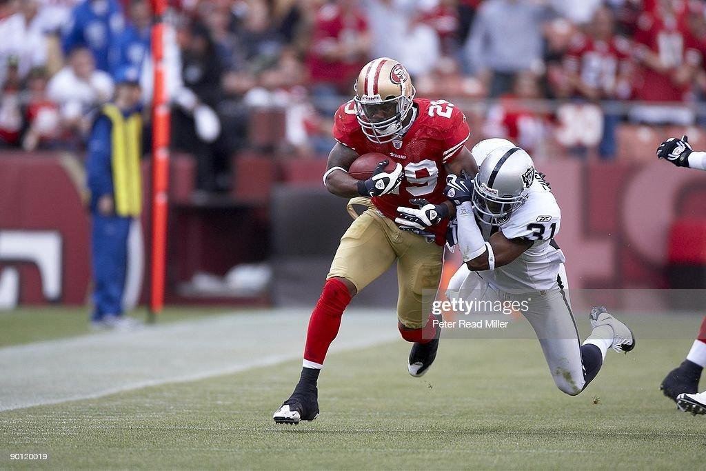 7c624eab939 ... San Francisco 49ers Glen Coffee (29) in action vs Oakland Raiders Hiram  Eugene ...