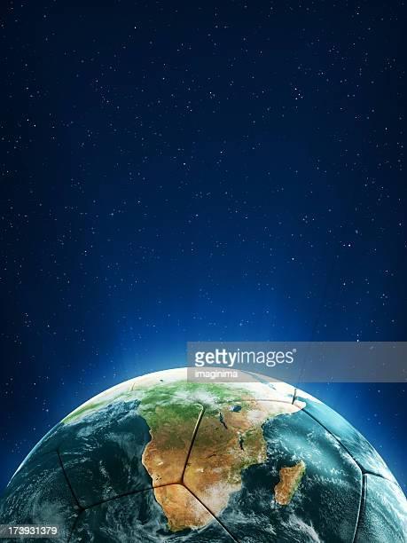 Football Shaped Globe