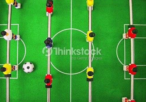 Juego De Mesa De Futbol Futbol Juego De Construccion De Equipo Foto