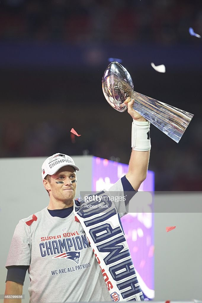 Tom Brady Super Bowl Trophy