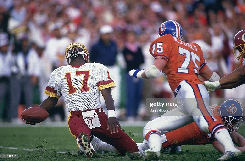 Doug Williams gets lucky