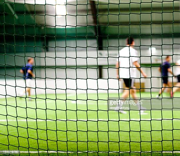 屋内フットボールトレーニング