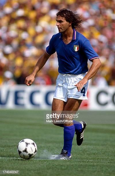 Football World Cup 1982 Brazil v Italy Antonio Cabrini