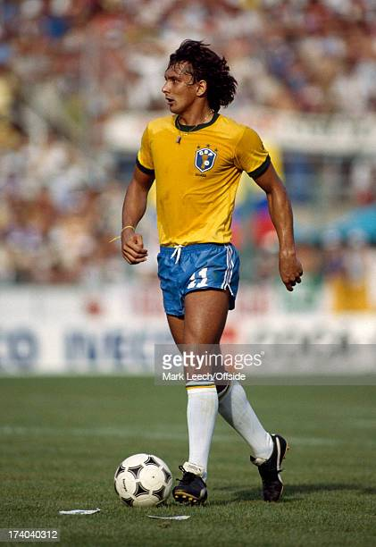 Football World Cup 1982 Brazil v Italy Eder