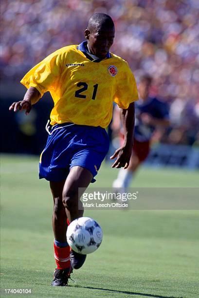 Football World Cup 1994 Colombia v USA Faustino Asprilla
