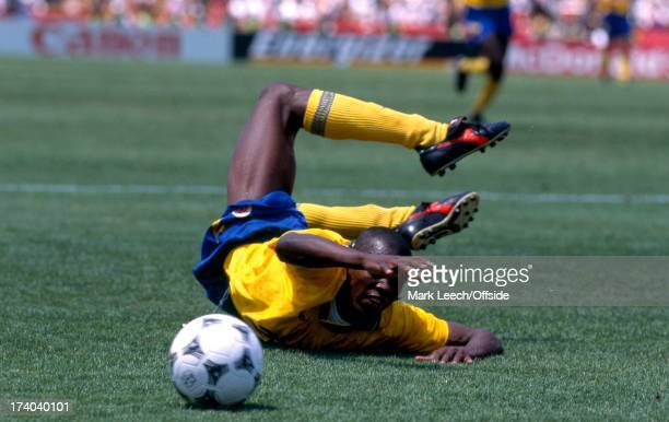 Football World Cup 1994 Switzerland v Colombia Faustino Asprilla