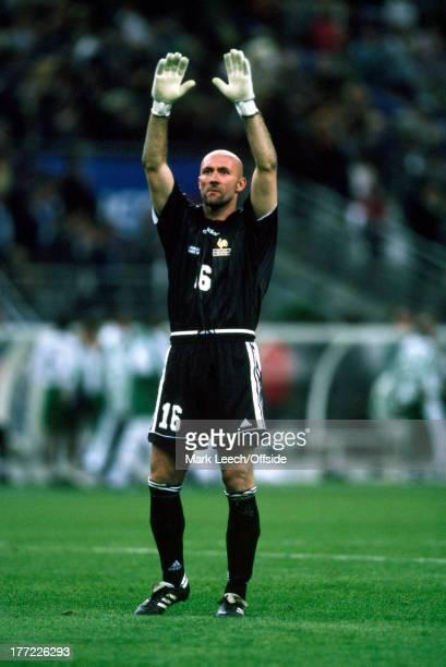 Football World Cup 1998 France v Saudi Arabia Fabien Barthez