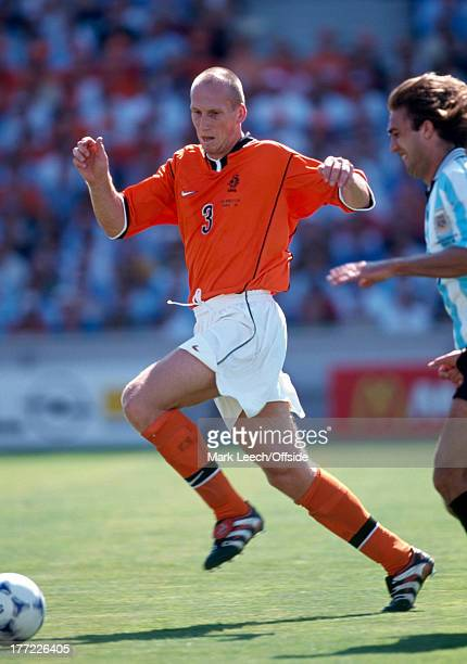 Football World Cup 1998 Holland v Argentina Jaap Stam
