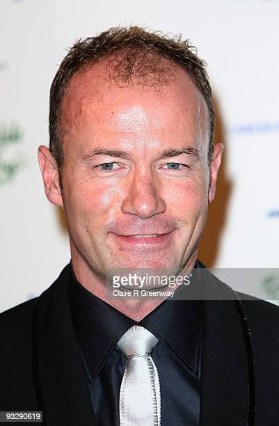 Footballer Alan Shearer arrives at the fourth annual Emeralds And Ivy Ball in aid of Cancer Research UK at Battersea Evolution on November 21 2009 in...