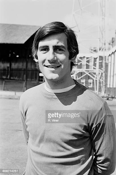 Footballer Alan Starling of Northampton Town FC UK 18th August 1971