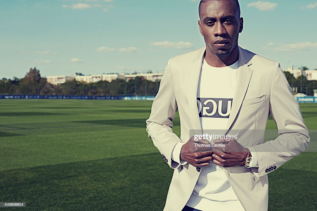 Footballer Blaise Matuidi is photographed for Gala on May 3, 2016 in Paris, France.