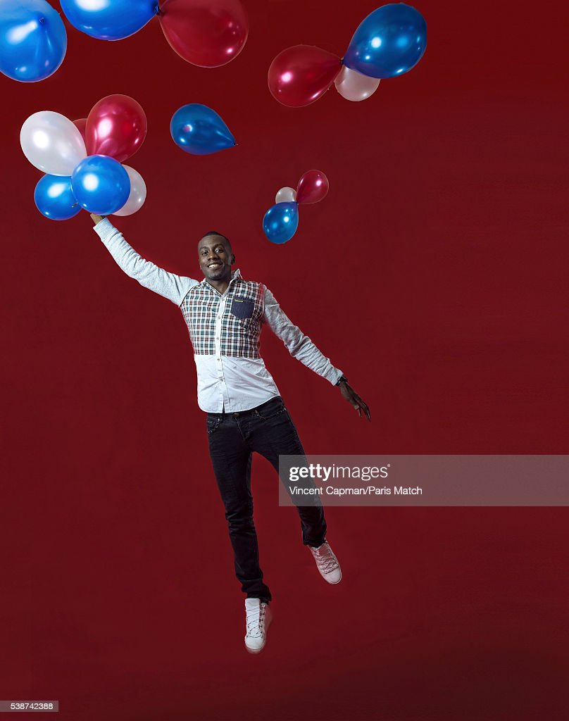Footballer Blaise Matuidi is photographed for Paris Match on May 17, 2016 in Paris, France.