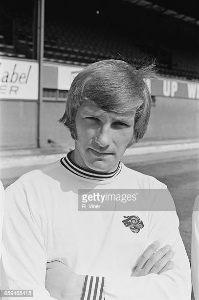 Footballer Colin Todd of Derby County FC UK 2nd August 1971