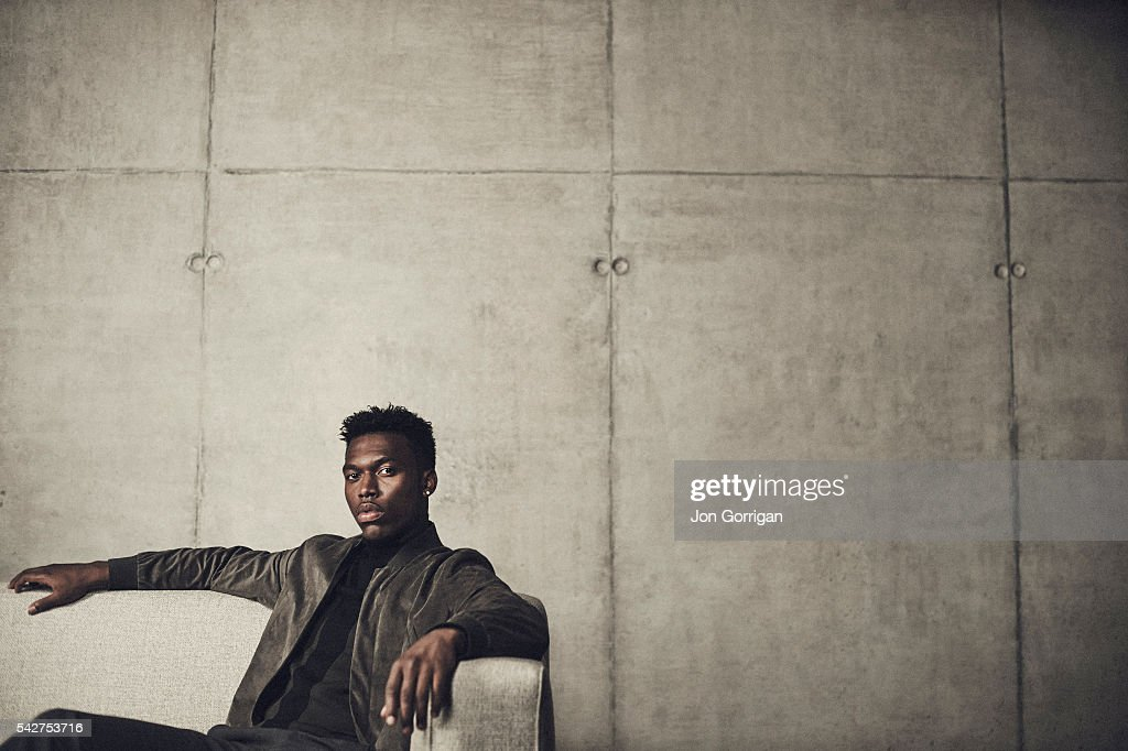 Footballer <a gi-track='captionPersonalityLinkClicked' href=/galleries/search?phrase=Daniel+Sturridge+-+Soccer+Player&family=editorial&specificpeople=677270 ng-click='$event.stopPropagation()'>Daniel Sturridge</a> is photographed for Esquire magazine on August 27, 2014 in London, England.
