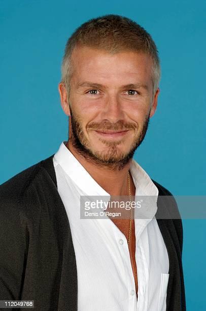 Footballer David Beckham at the Concert For Diana 2007