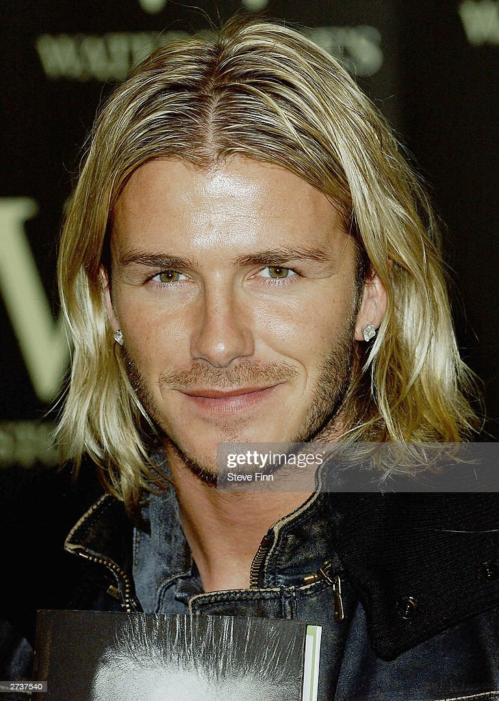 London David Beckham Book Signing