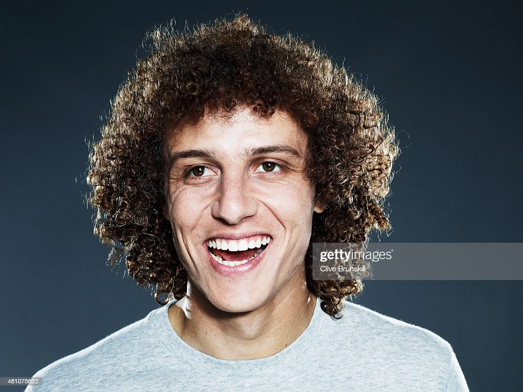 Footballer David Luiz is photographed on September 22, 2013 in London, England.