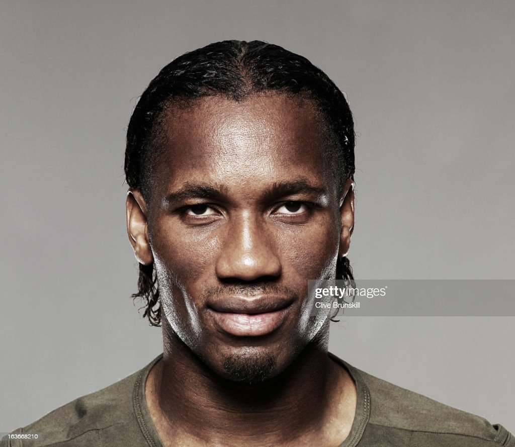 Didier Drogba, Portrait shoot, September 10, 2008