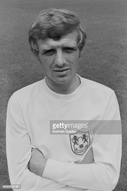 Footballer Eamon Dunphy of Millwall FC UK 19th July 1971