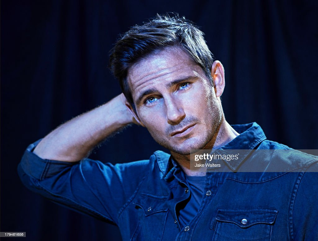 Footballer <a gi-track='captionPersonalityLinkClicked' href=/galleries/search?phrase=Frank+Lampard+-+Born+1978&family=editorial&specificpeople=11497645 ng-click='$event.stopPropagation()'>Frank Lampard</a> is photographed for ES magazine on August 15, 2013 in London, England.