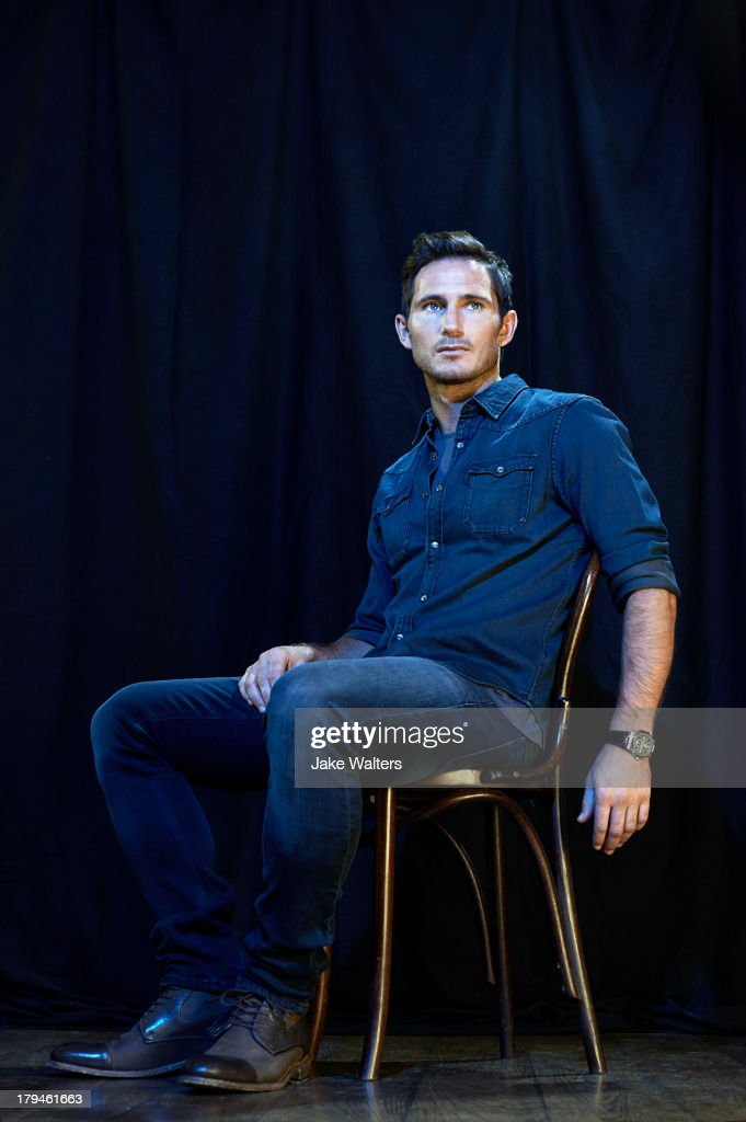 Footballer Frank Lampard is photographed for ES magazine on August 15, 2013 in London, England.